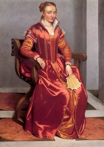 Giovanni Batista Moroni Lady in Red