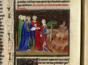 IMAGE: Moses' law divorce 1400
