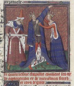 The assassination of Agamemnon